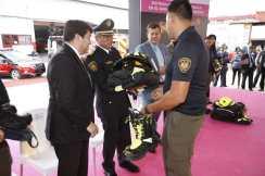 Recibe H. Cuerpo de Bomberos equipamiento de manos del gobierno de la CDMX (4)