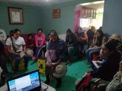 Vecinas de San Pablo Autopan se suman a la Red de Mujeres por la Prevención de la Violencia