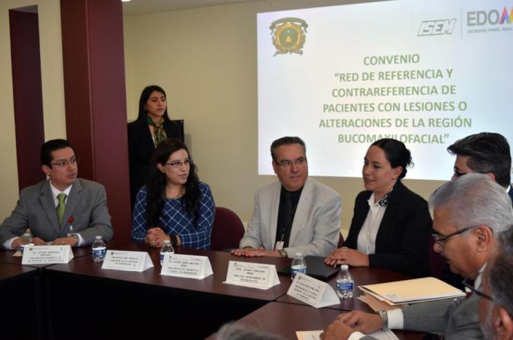 Firman ISEM y UAEM convenio para atender a pacientes con enfermedades dentales malignas 4