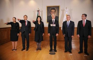 Toma protesta Alfredo del Mazo a nuevos Secretarios del Trabajo, Turismo y Desarrollo Agropecuario 1