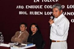 """Charlan sobre biodiversidad y creación del universo en el ciclo de conferencias """"Historias de Toluca"""" 2"""
