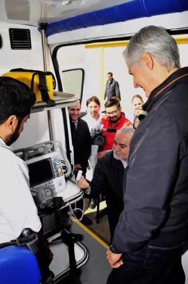 Entrega Alfredo del Mazo nuevas ambulancias al ISSEMYM para brindar mejores servicios de salud a sus derechohabientes 1