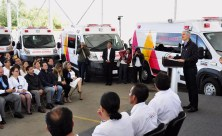 Entrega Alfredo del Mazo nuevas ambulancias al ISSEMYM para brindar mejores servicios de salud a sus derechohabientes 6