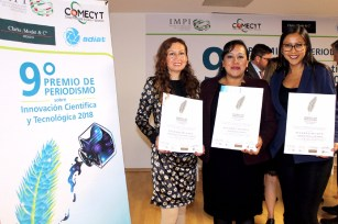 Entrega COMECYT noveno premio de periodismo sobre ciencia 1