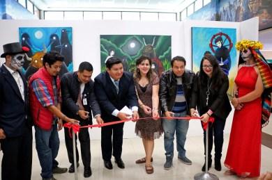 """Inauguran exposición """"La noche del gallo"""" en el Tecnológico de Estudios Superiores de Valle de Bravo 2"""