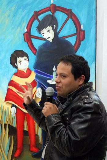 """Inauguran exposición """"La noche del gallo"""" en el Tecnológico de Estudios Superiores de Valle de Bravo 3"""