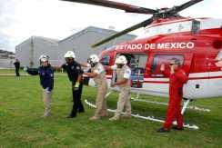 Capacita Grupos Relámpagos a paramédicos, bomberos y personal de Protección Civil de Metepec