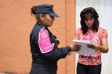Atienden Gobierno del Edoméx y Ayuntamiento de Chalco violencia contra la mujer a través de la Policía de Género