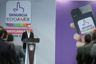 """Aplicación móvil """"Denuncia Edoméx"""" permitirá fortalecer la transparencia y combatir la corrupción en la entidad Alfredo del Mazo 2"""