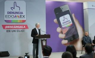 """Aplicación móvil """"Denuncia Edoméx"""" permitirá fortalecer la transparencia y combatir la corrupción en la entidad Alfredo del Mazo 3"""