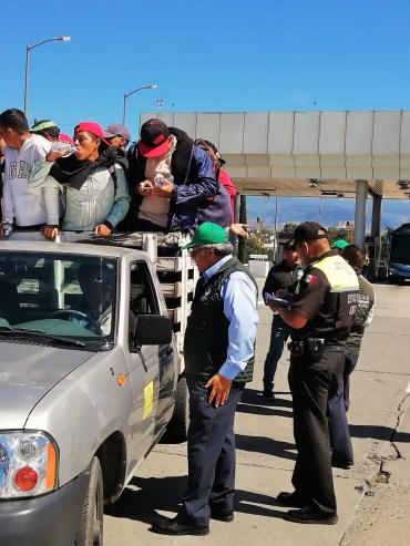 """CODHEM mantiene despliegue de visitadores para ayuda humanitaria a """"Caravana Migrante"""""""