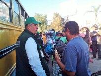 CODHEM brindó información a 250 migrantes