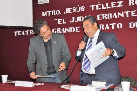 """Presentan """"El judío errante. Teatro de grande aparato del Siglo XIX"""" 1"""