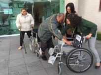 Promueve IFREM apoyo a personas con discapacidades reciclando grapas