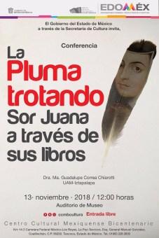 Celebra Secretaría de Cultura Día Nacional del Libro con jornada dedicada a Sor Juana Inés de la Cruz