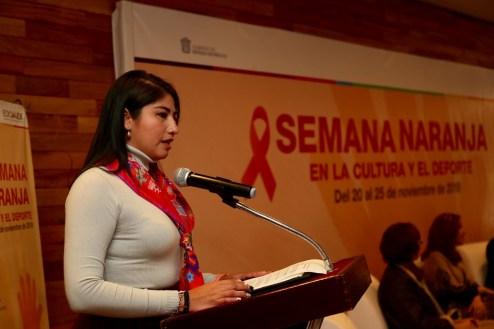 Inicia Secretaría Mexiquense Semana Naranja en la Cultura y el Deporte