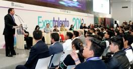 """Consolidan vinculación entre emprendedores del Edoméx y empresas en """"Expotalento innovación y creatividad 2018"""""""