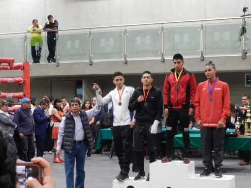 Consigue Edoméx primer lugar en el Campeonato Nacional de Boxeo Elite