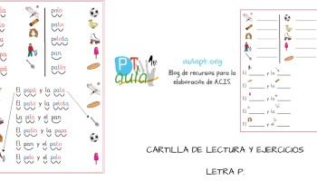 Fichas para niños de Infantil 4 años - Aula PT