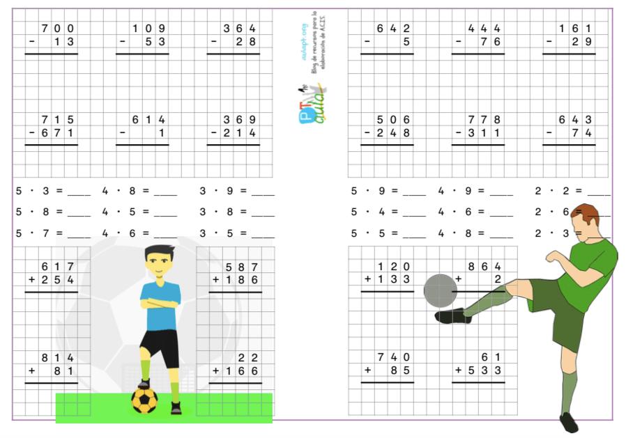 Cuaderno De Cálculo Para 2º De E Primaria Aula Pt