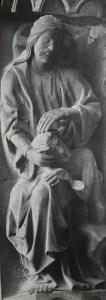 Création d'Adam (cathédrale de Chartres)
