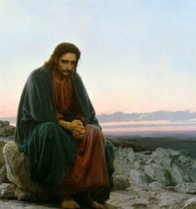 Ivan Kramskoï, Le Christ dans le désert, 1872