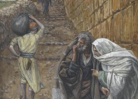 Read more about the article L'homme à la cruche – prolepse prophétique