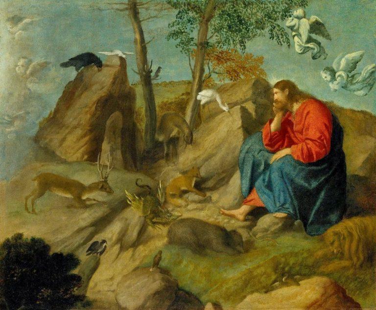 Eden retrouvé (Mc 1,12-13)