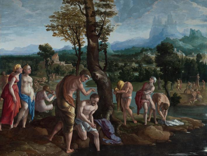 Read more about the article Le baptême de Jésus (Mt 3,13-17)