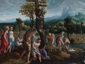 Van Scorel, le baptême du Christ