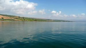 Mer de Galilée / Kinereth (ou lac de Tibériade)