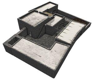 Une maison type à Capharnaüm