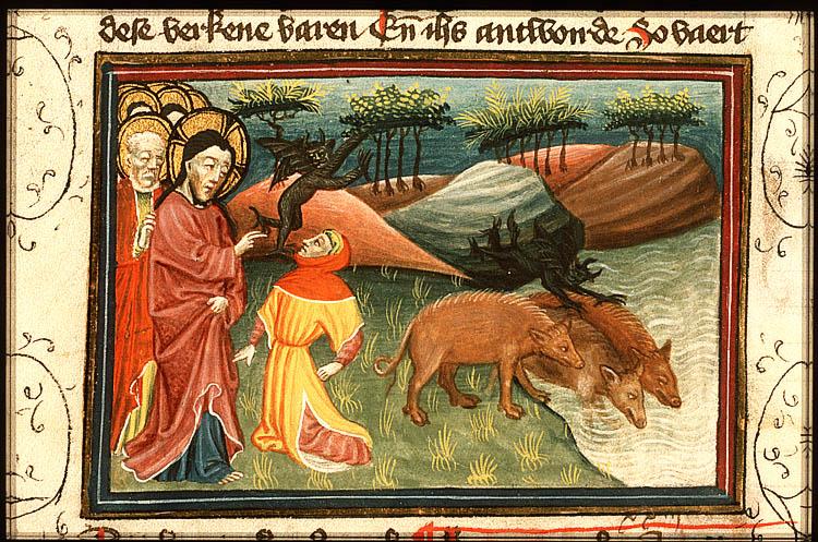 Le démoniaque de la Décapole (Mc 5,1-20) | Au large biblique