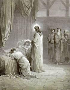 Résurrection de la fille de Jaïre, Gustave Doré, 1880