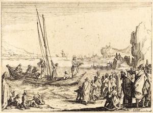 Multitude au bord de mer (Mc 3,7-12)