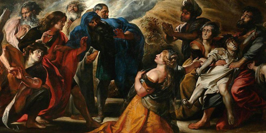 1605, Transfiguration, Rubens-(détail)