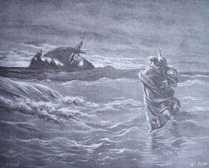 Sur la mer, en marchant (Mc 6,47-56)