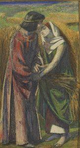 Dante Gabriel Rossetti, Ruth et Boaz, 1855