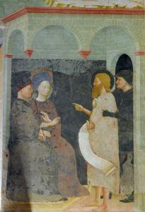 Masolino da Panicale, Hérode et Hérodiade, 1435