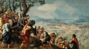 Jan van Scorel, l'Entrée du Christ dans Jérusalem, 1526
