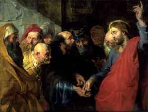 Pier Paul Rubens, l'impot à César, 1612