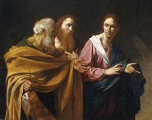 L'appel des saints apôtres Pierre et André - attr. Le Caravage (1571-1610)