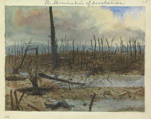 Mametz Wood, afte the autumn advance, L'abomination de la désolation, 1916