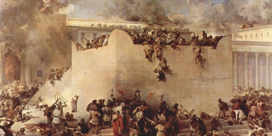 Francesco Hayez, La destruction du Temple de Jerusalem, 1867