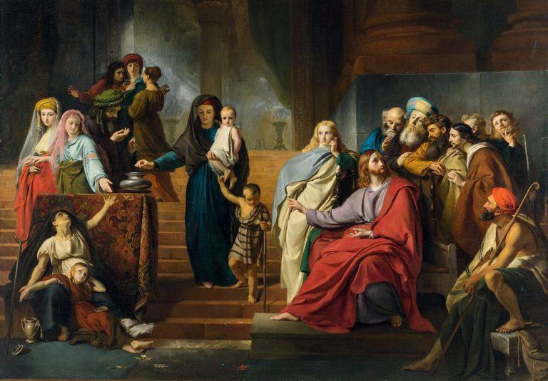 Les scribes et la veuve (Mc 12,35-44)