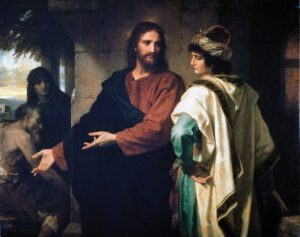 Heinrich Hoffman, Christ And The Rich Young Ruler, 1899