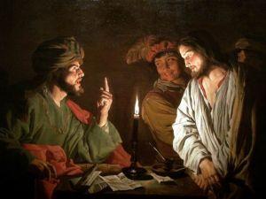Mattias Stom, Christ face à Caïphe,1630
