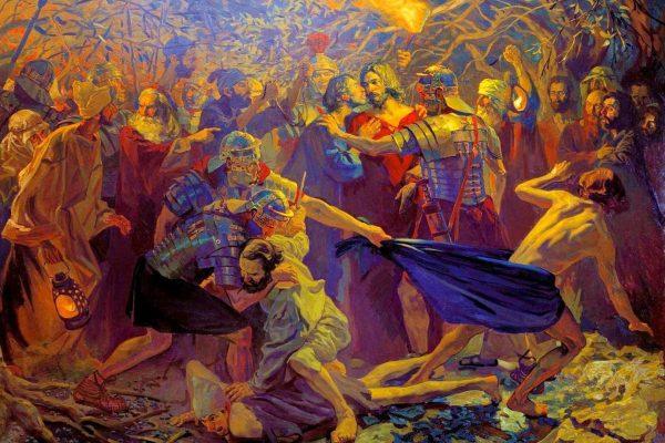 Arrestation, trahison et abandons (Mc 14,43-52)