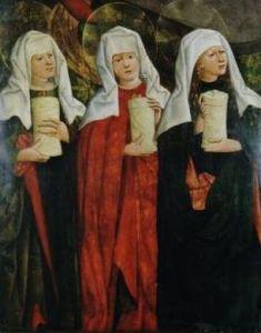 Nikolaï Haberschrack, Les trois Marie, 1470