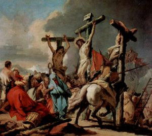 Giovanni Battista Tiepolo, crucifixion,1750